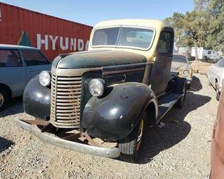 30  Classic Chevrolet Truck VIN: Unknown Mileage: Unknown License Plate No: Unknown