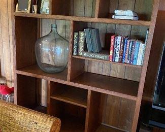 Great storage and display bookshelf unit.