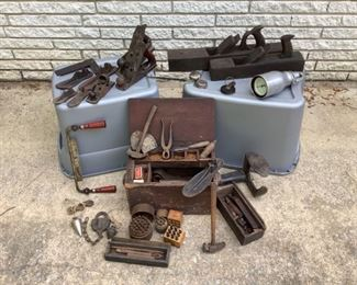 Antique Cobbling and Woodworking Tools