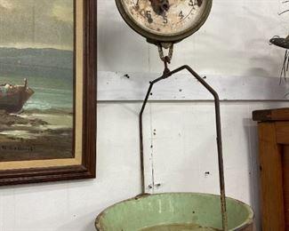 Antique Produce Scales