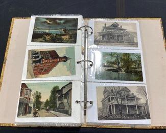 Antique Postcard Album