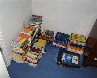 Math and Science books