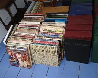 Records and more books