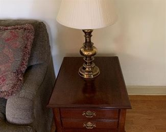 Classic  Cherry End Table