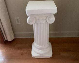 Plaster Pedestal