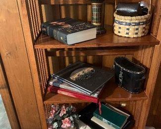 Bookshelf, Binoculars, Cameras and More Books