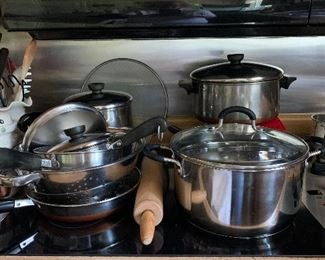 Great Copper Bottom Cookware