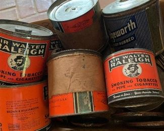 Tobacco Tins !!! Very Collectable