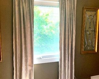 Curtains by West Elm.