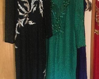 Vintage beaded dresses