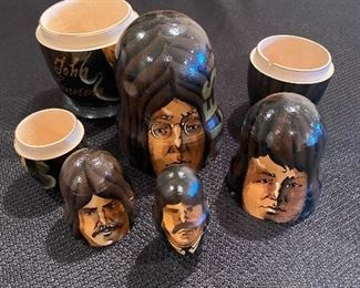 Beatles nesting dolls