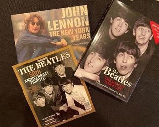 Beatles books and magazines