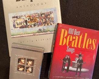 Beatles DVDs, books