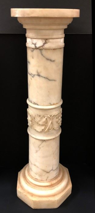Tall Marble Pedestal, 5 Sections