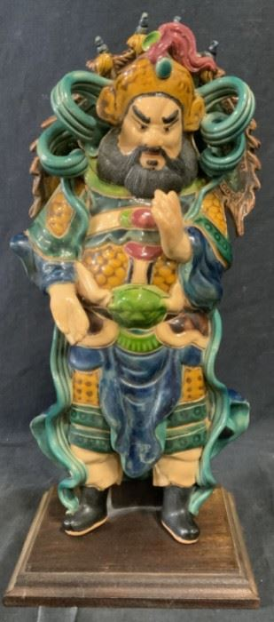 Chinese Ceramic Figural Statue