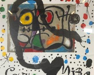 JOAN MIRO Galerie Maeght Lithograph