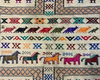 Handmade Moroccan Wool Tapestry