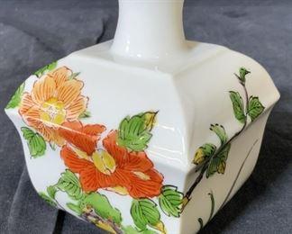 Porcelain Floral Bud Vase