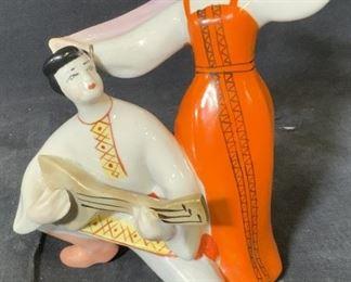 Russian Porcelain Figural Sculpture