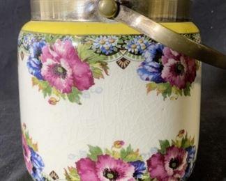 Vintage WEDGWOOD Ceramic Biscuit Barrel