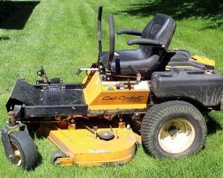 "Cub Cadet Z-Force Zero Turn Riding Lawn Mower With 48"" Deck, Gas 22 HP Kohler Engine"