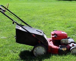 """roy-Bilt Gas Powered Self Propelled Push Mower With 21"""" Deck Model PB230, 163CC, Briggs And Stratton Motor"""