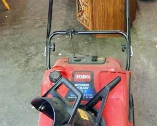 Toro Gas Powered Snow Blower Model 38593