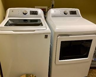 Nearly new washer and dryer