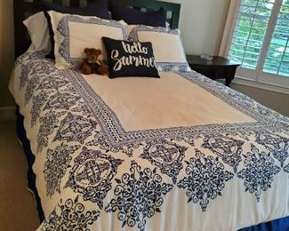 Beautiful bedroom furniture and bedding