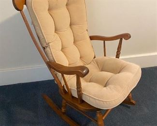 Indoor rocker. Great for nursery or sitting room