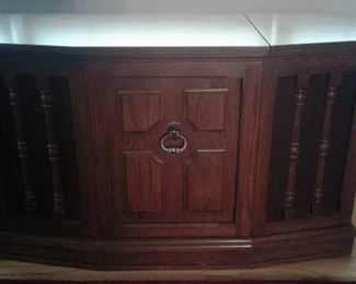 Panasonic Stereo and MCM cabinet.  Great condition
