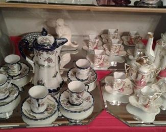Assorted collectible china