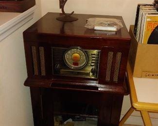 Radio, Storage Cabinet