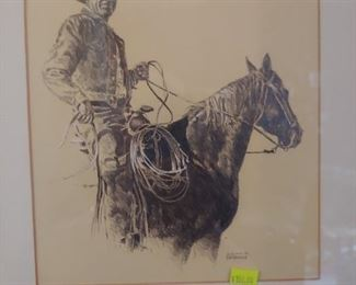 Vic Donahue Art Signed