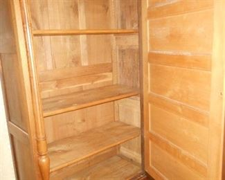 interior view, great for quilt storage