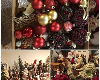 Christmas in June! So much Christmas! Stock up. Avoid the rush.  I know you need a Santa on a rooster.