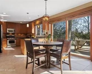 Kitchen Table,  pottery barn chairs,