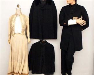 Victorian Dress, GAR Uniform