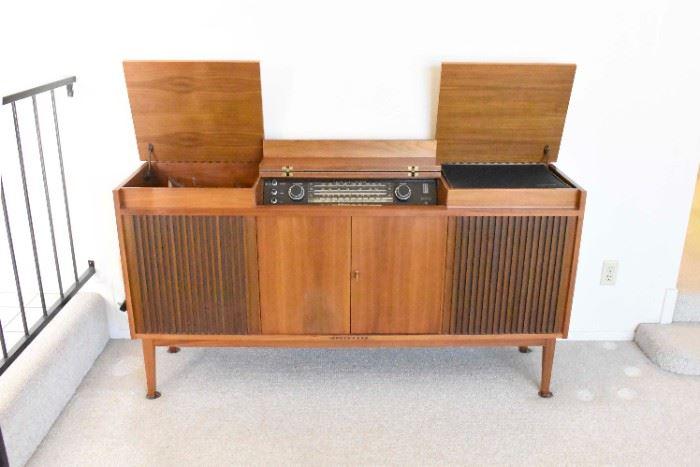 Telefunken Stereo Cabinet with Sony Reel to Reel