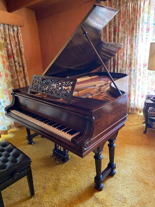 Late 19th Century Knabe Rosewood Grand Piano - Fully Restored - Accepting Offers