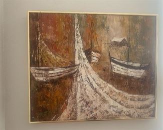 Sea artwork: $ 60