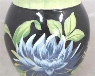 "1 - Art pottery vase 9"" tall"