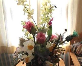 20 - Silk flower arrangement