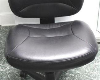 74 - Black office chair