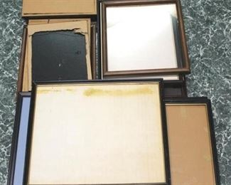 77 - Assorted picture frames