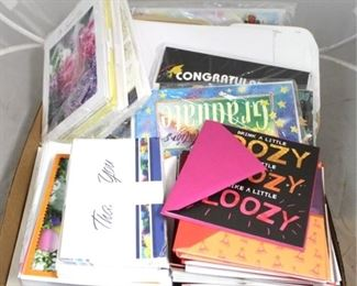 83 - Assorted greeting cards