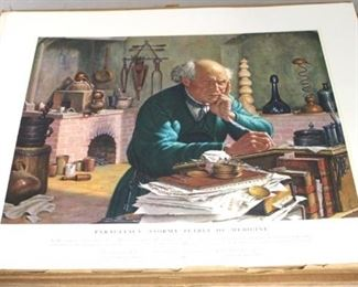 88 - A History of Medicine prints - 5 complete albums
