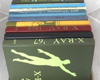 112 - Assorted yearbooks