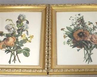 117 - Pair matching prints - 10 x 12