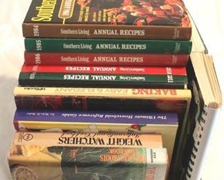 127 - Assorted cookbooks